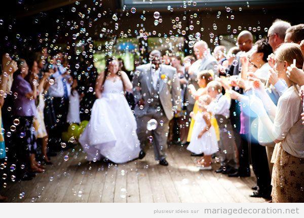 Tendances déco mariage été 2018 bulles