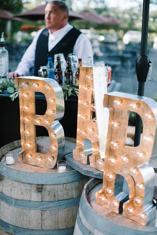 Mariage Champêtre Chic Bar