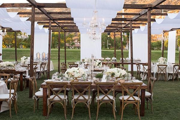 Mariage Champêtre Chic Banquet