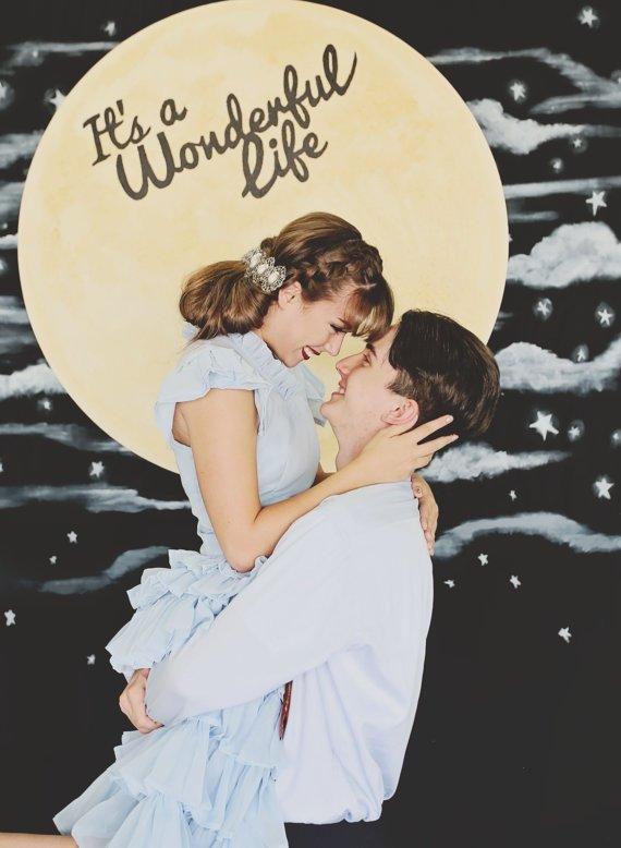 Décoration mariage Theme pleine lune 2