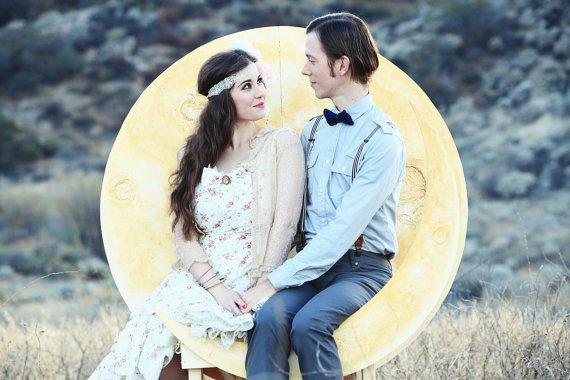 Décoration mariage Theme pleine lune 3