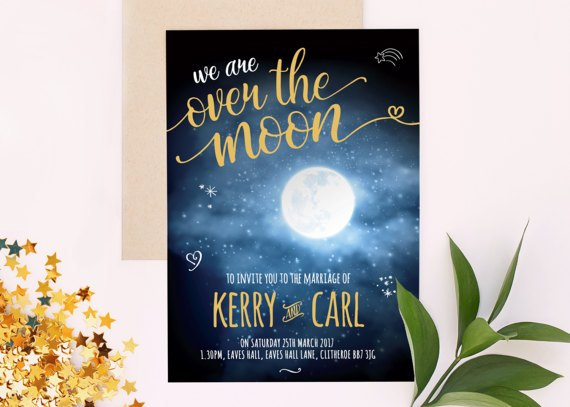 Décoration mariage Theme pleine lune 4