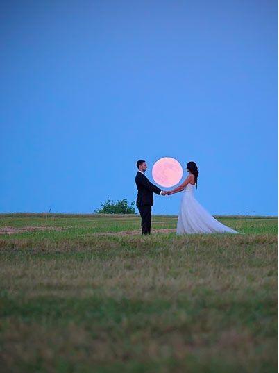Décoration mariage Theme pleine lune 7