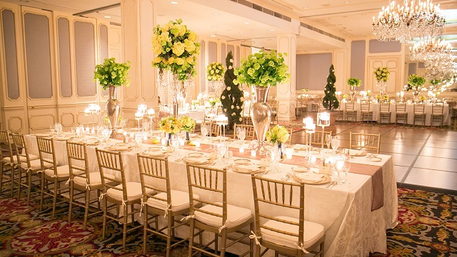 Salle mariage élégante 7