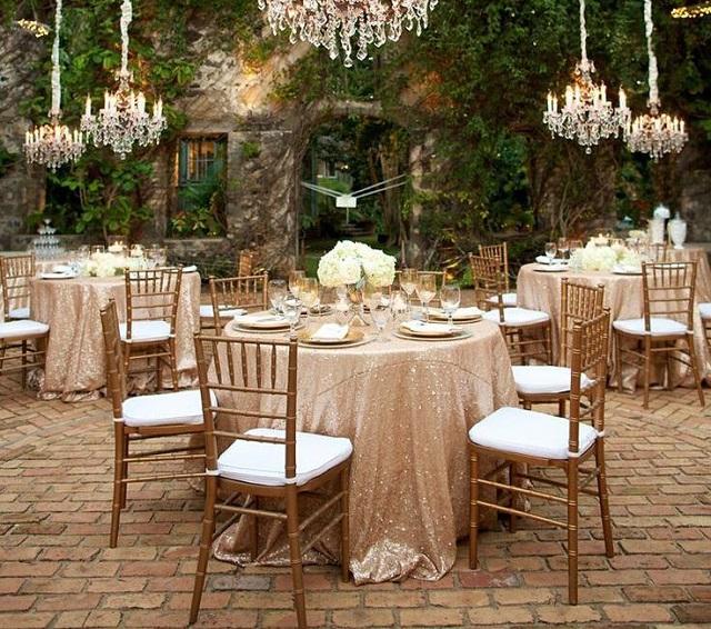 Salle mariage élégante