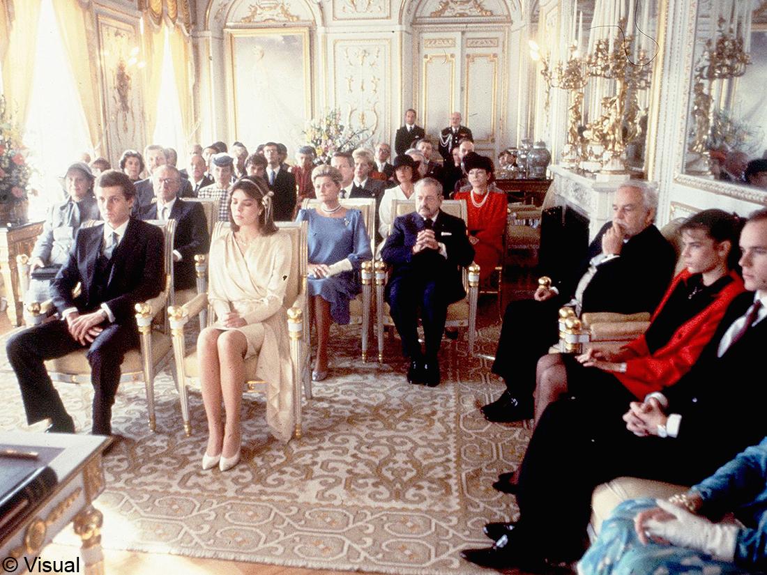 Mariage Caroline Monaco et Stefano Casiraghi