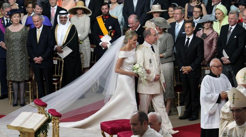 Mariage Albert II et Charlene Wittstock