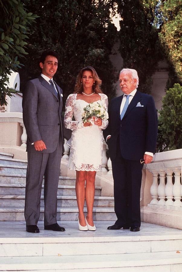 Mariage Stéphanie et Daniel Ducruet,