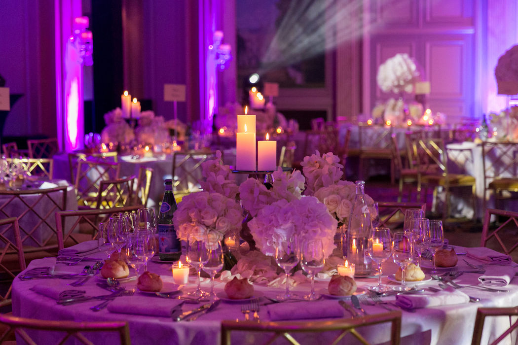 Table invités mariage orientale