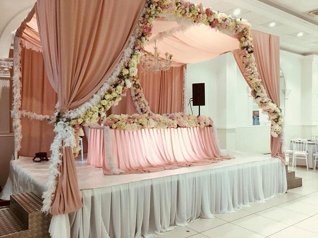 Table mariés mariage orientale