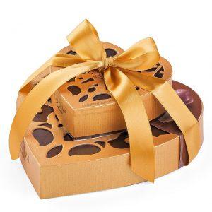 Chocolats en forme de coeur 2